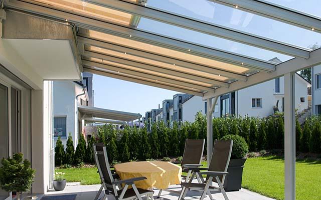 Системы со стеклянными крышами Stobag, Terrado