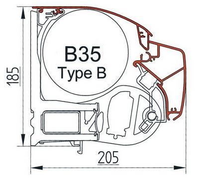 Universal type B