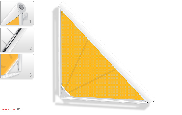 Markilux Треугольные маркизы Markilux 893
